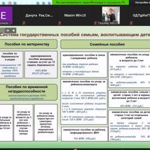 Льготы и социальные гарантии семьям, материалы вебинара